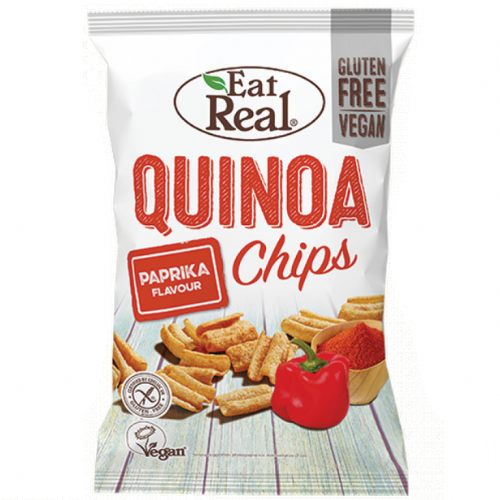Eat Real Quinoa Paprika Chips 80g